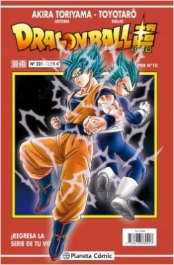 DRAGON BALL SUPER. SERIE ROJA 10