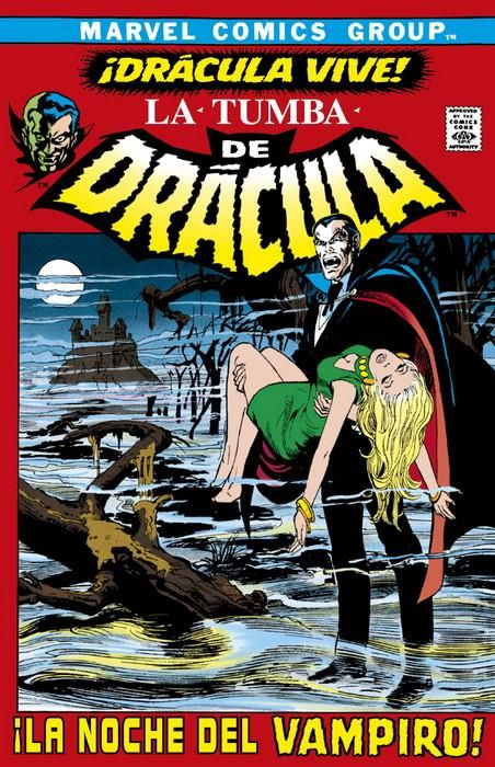 Biblioteca Drácula. La Tumba de Drácula 01 (de 10)