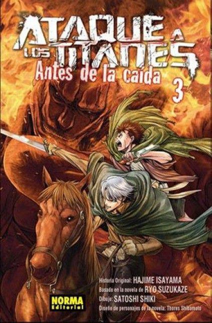 ATAQUE A LOS TITANES. ANTES DE LA CAÍDA 03