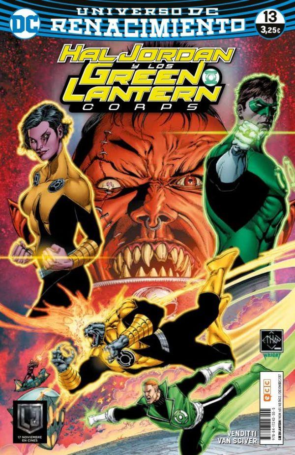 Green Lantern núm. 13 (Renacimiento)
