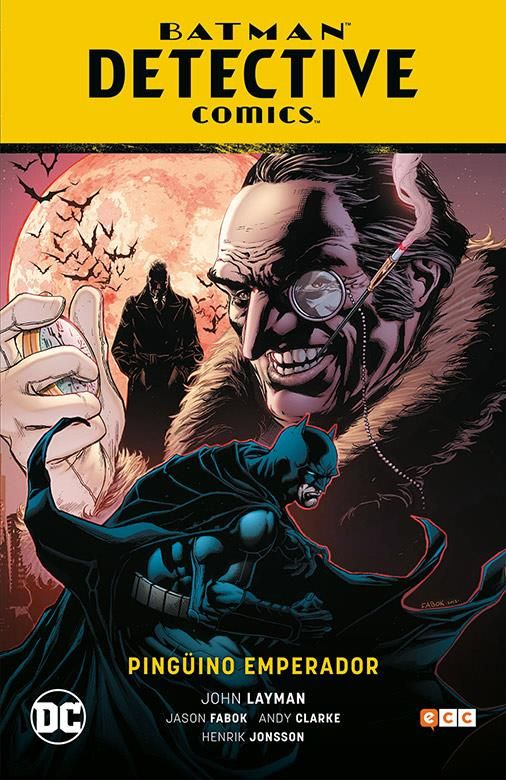 Batman: Detective Comics-Pingüino Emperador