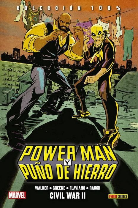 100% MARVEL HC. POWER MAN Y PUÑO DE HIERRO 02