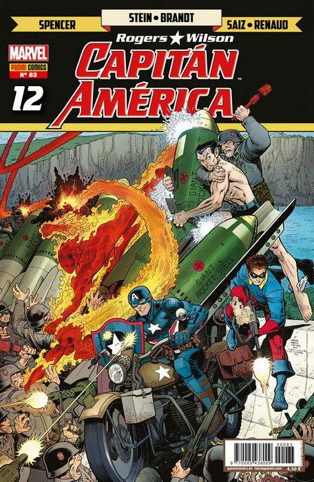 Rogers - Wilson: Capitán América   12