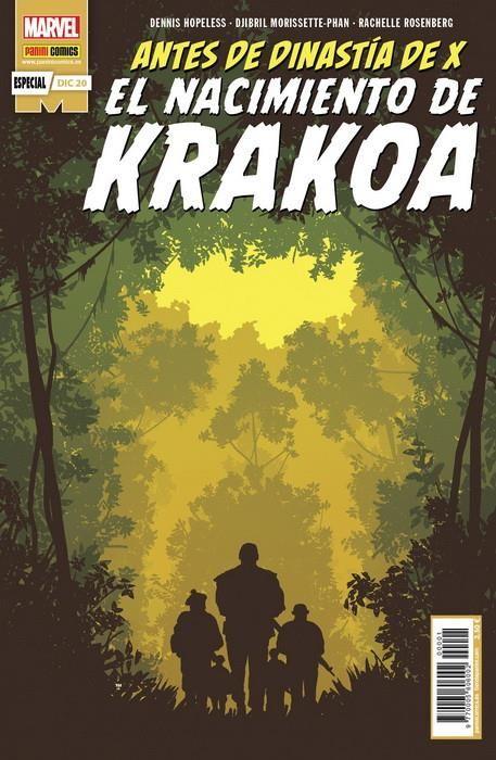 Antes de Dinastía de X. El nacimiento de Krakoa