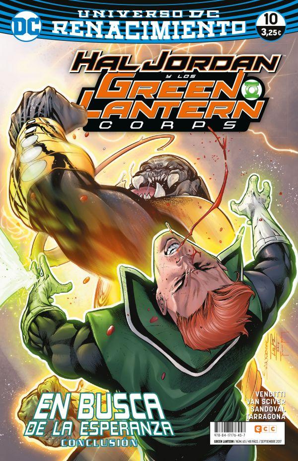 Green Lantern núm. 10 (Renacimiento)