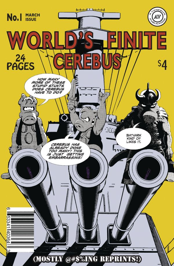 WORLDS FINITE CEREBUS #1