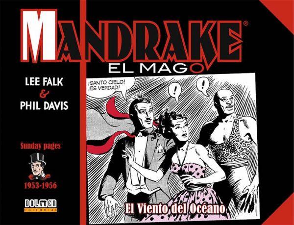 Mandrake el mago. 1953-1956. El viento del océano