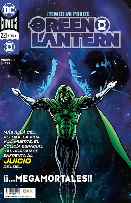 EL GREEN LANTERN 22