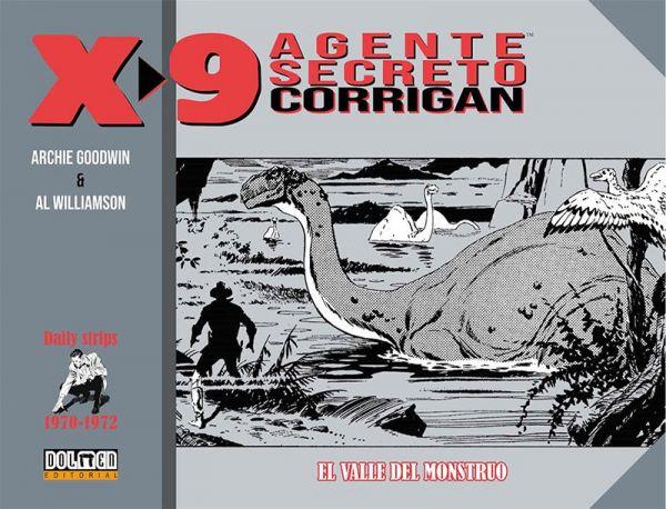 X-9. Agente secreto Corrigan (1970-1972)