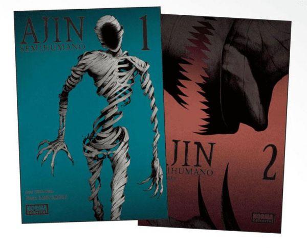 Ajin (Semihumano) Pack de iniciación 01 + 02