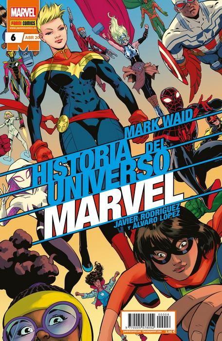 Historia del Universo Marvel 06 (Edición normal)