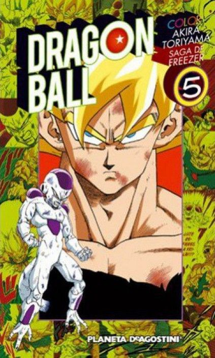 DRAGON BALL COLOR. SAGA DE FREEZER 05