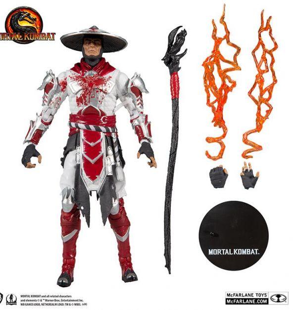 Mortal Kombat 4 Figura Raiden Bloody 18 cm