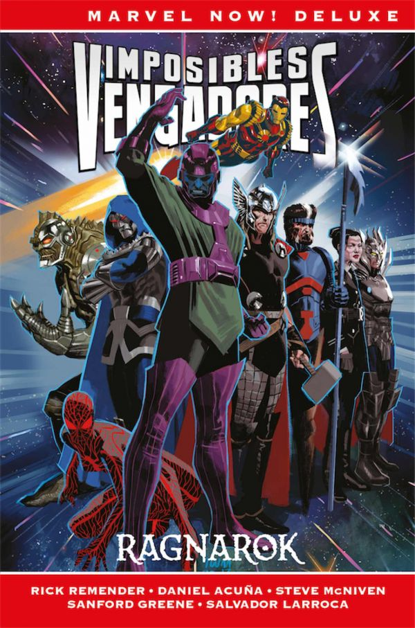 IMPOSIBLES VENGADORES. MARVEL NOW! DELUXE 02