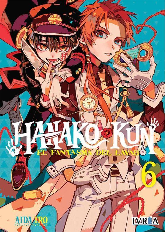 Hanako-Kun. El fantasma del lavabo 06