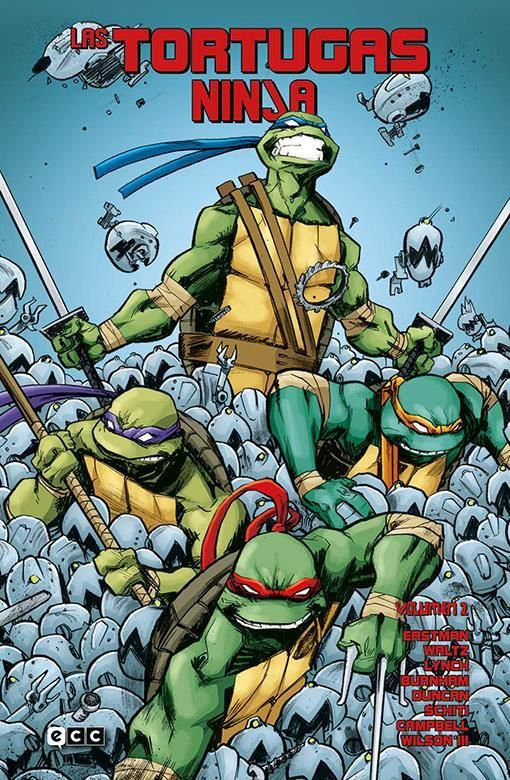 Las Tortugas Ninja vol. 02