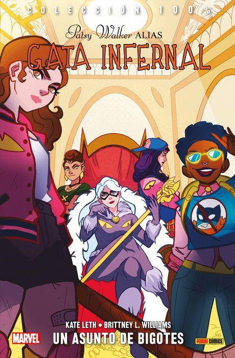 100% Marvel. Patsy Walker alias Gata Infernal  03