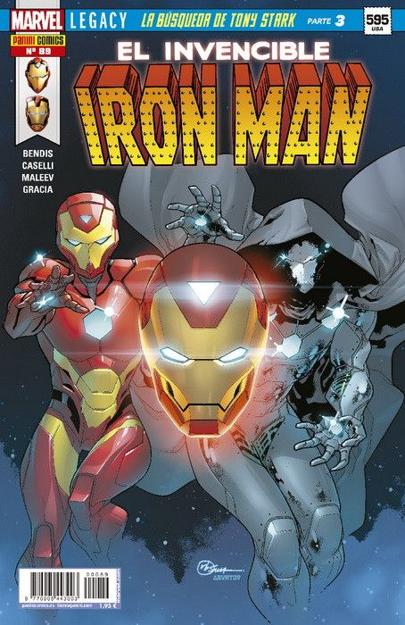 EL INVENCIBLE IRON MAN 89