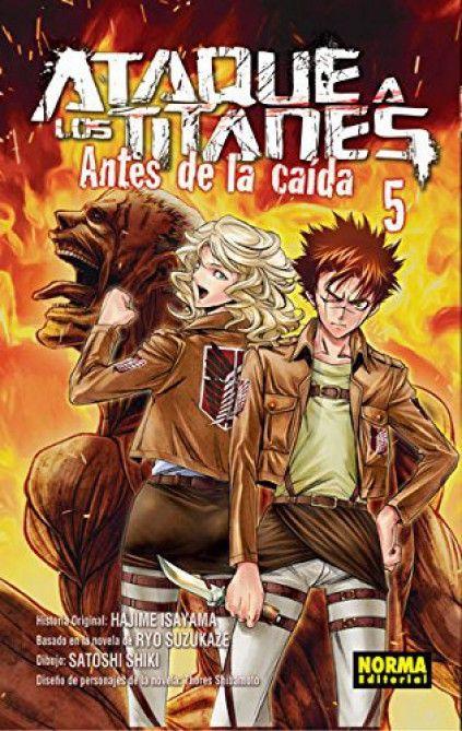 ATAQUE A LOS TITANES. ANTES DE LA CAÍDA 05