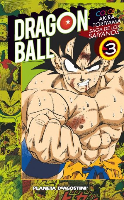 DRAGON BALL COLOR. SAGA DE LOS SAIYANOS 03