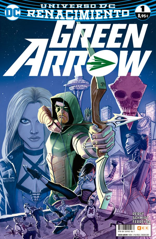 Green Arrow núm. 01 (Renacimiento)