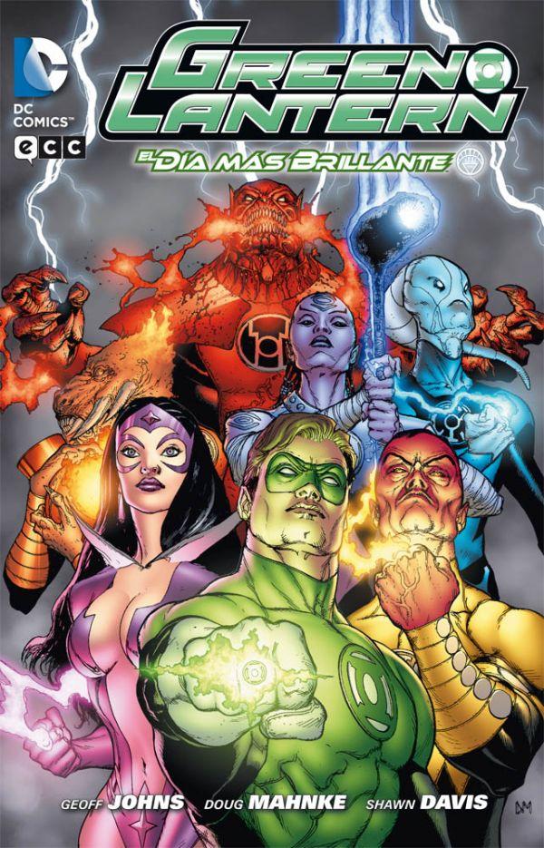 Green Lantern de Geoff Johns núm. 04: El Día más brillante