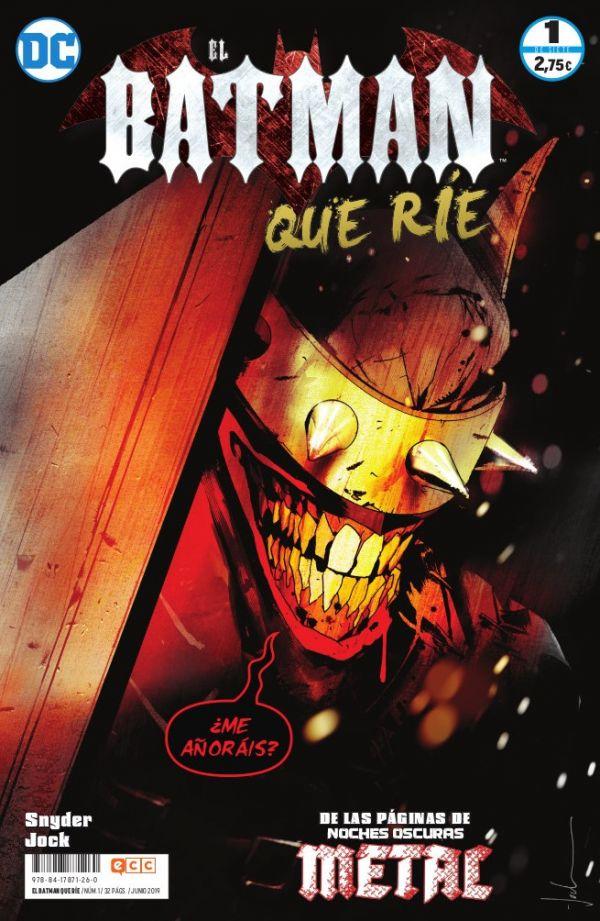 EL BATMAN QUE RÍE 01 (DE 07)