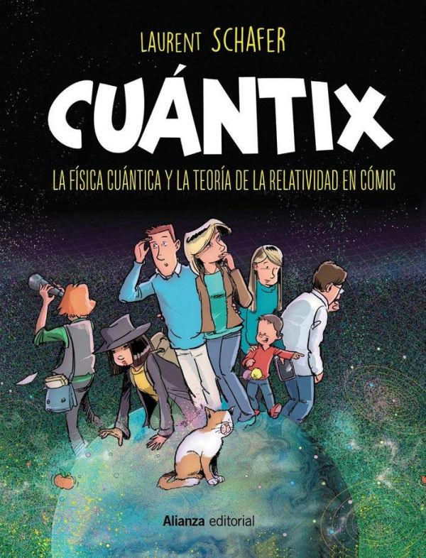 Cuantix. La física cuántica y la relatividad en cómic