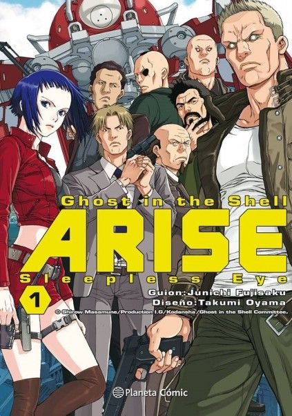 GHOST IN THE SHELL. ARISE 01