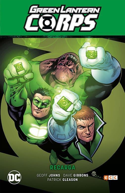 Green Lantern Corps vol. 01: Recarga (GREEN LANTERN SAGA 04)