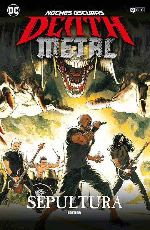 Noches oscuras: Death Metal 05 de 7 (Sepultura Band Edition) (Cartoné)