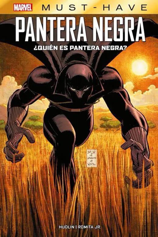 Marvel Must-Have. ¿Quién es Pantera Negra?