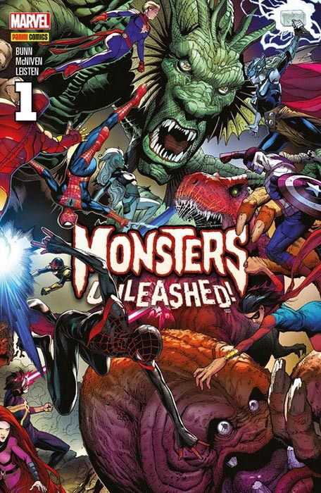 MONSTER UNLEASHED! 01