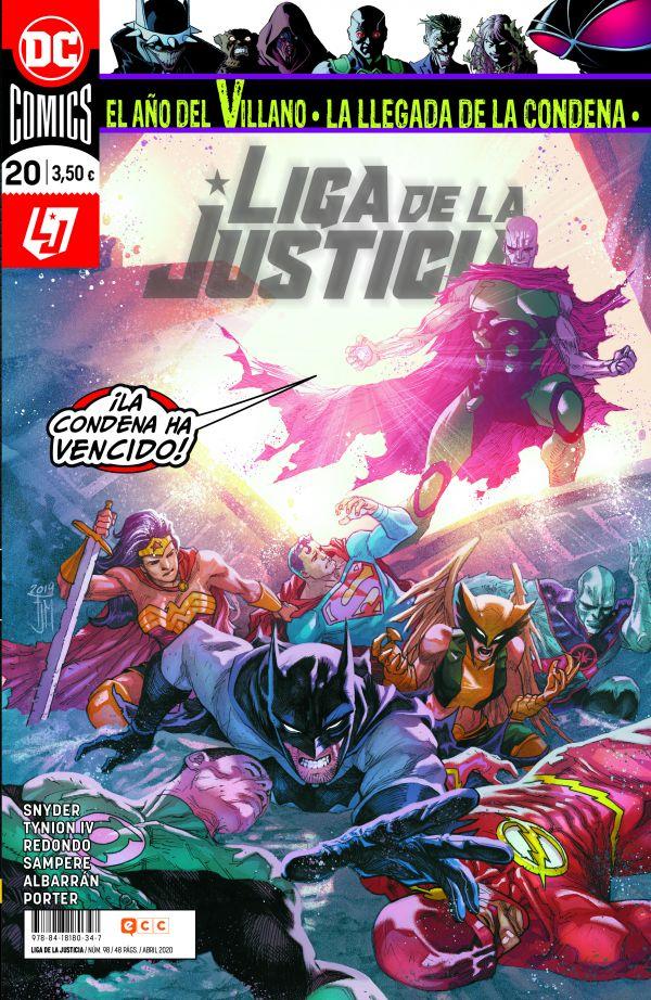 LIGA DE LA JUSTICIA 20