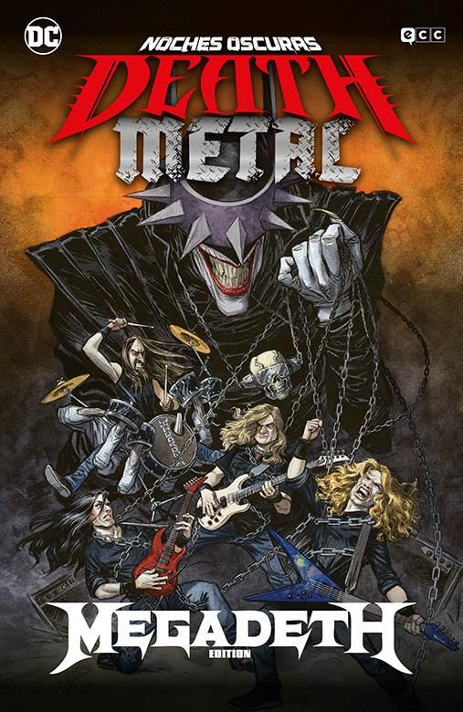 Noches oscuras: Death Metal 01 de 7 (Megadeth Band Edition) (Rústica)
