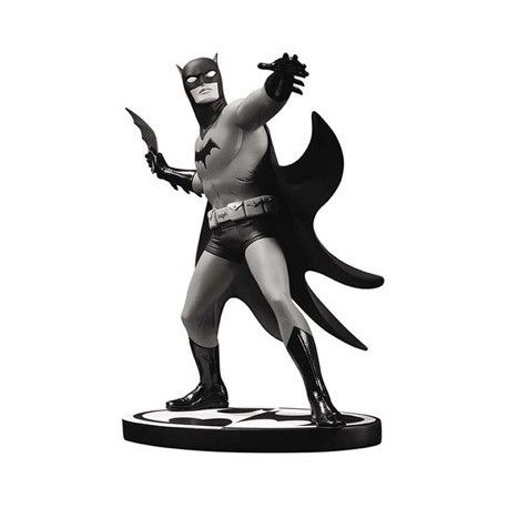Estatua Batman. Black and white by Michael Allred, 18 cm. DC Collectibles