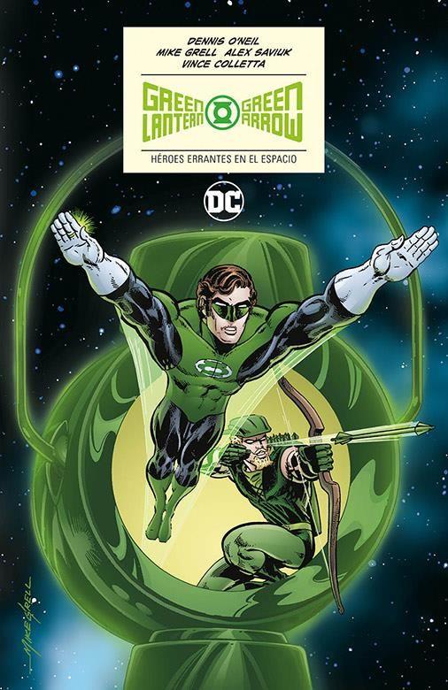 Green Lantern/Green Arrow: Héroes errantes en el espacio