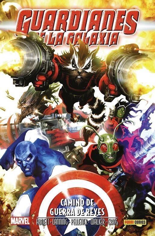Marvel Saga. Aniquilación Saga 13. Guardianes de la Galaxia: Camino de Guerra de Reyes