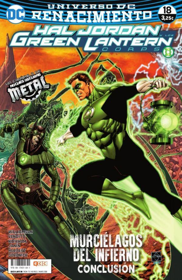 Green Lantern núm. 18 (Renacimiento)