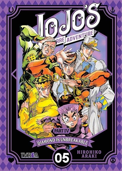 JOJO'S BIZARRE ADVENTURE. PART IV: DIAMOND IS UNBREAKABLE 05