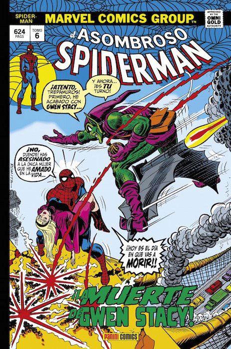 Marvel Gold. El Asombroso Spiderman   6 ¡La muerte de Gwen Stacy!