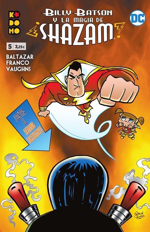 BILLY BATSON Y LA MAGIA DE ¡SHAZAM! 05