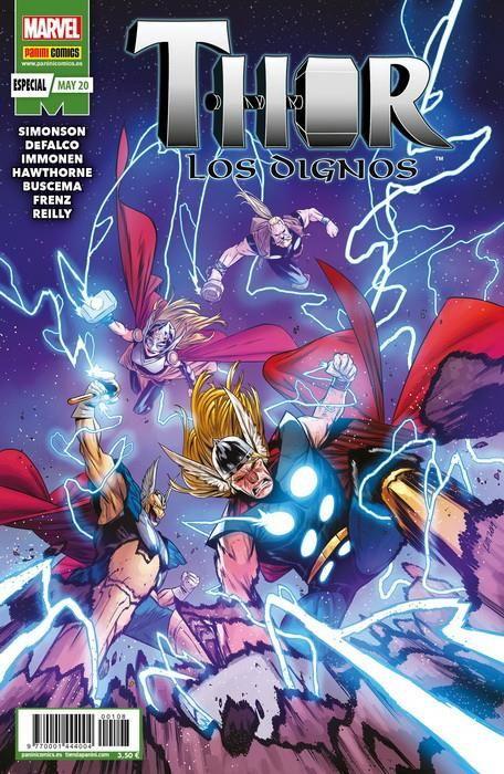 Marvel 80º Aniversario: Thor. Los dignos