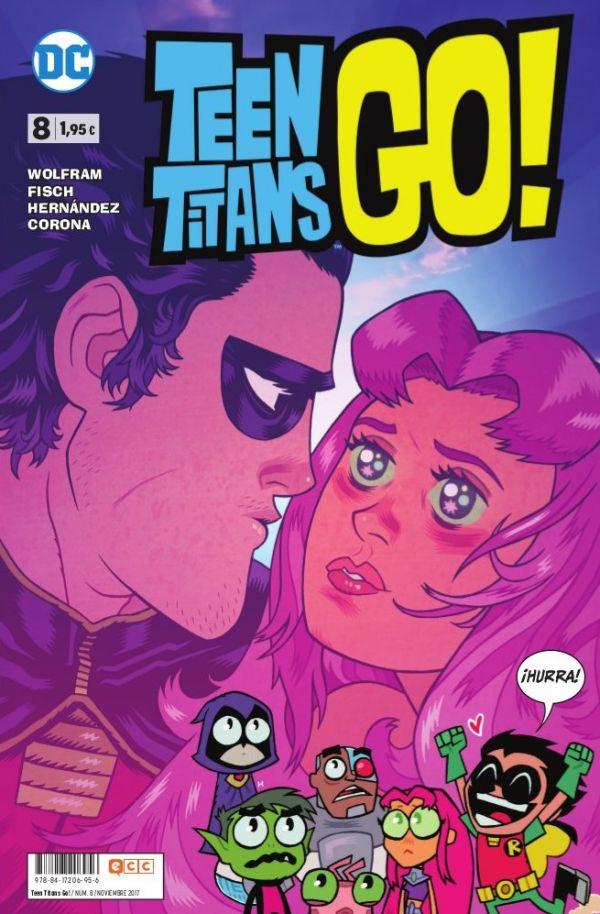 Teen Titans Go! núm. 08