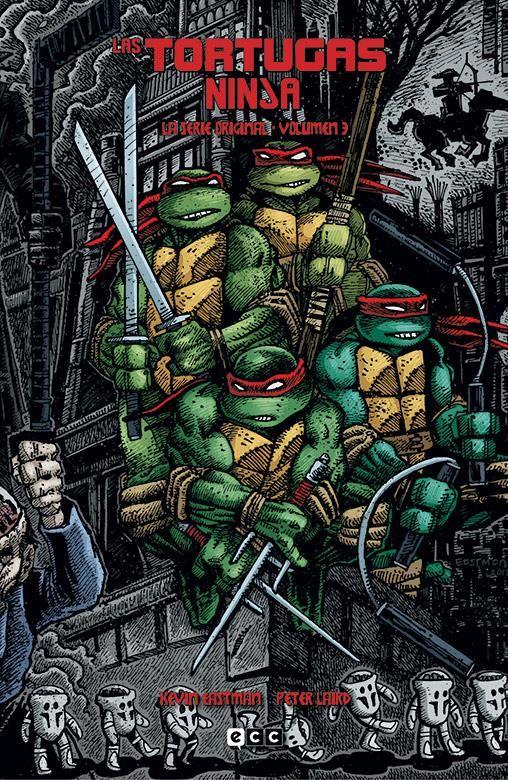 Las Tortugas Ninja: La serie original vol. 03 de 6