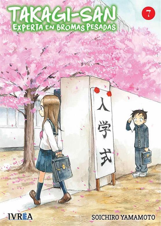 Takagi-san. Experta en bromas pesadas 07