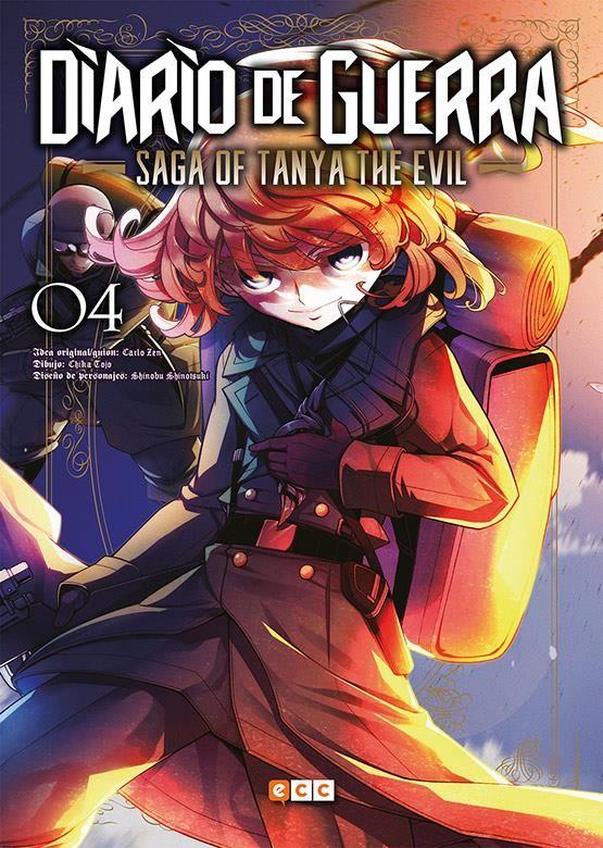 Diario de guerra - Saga of Tanya the evil 04