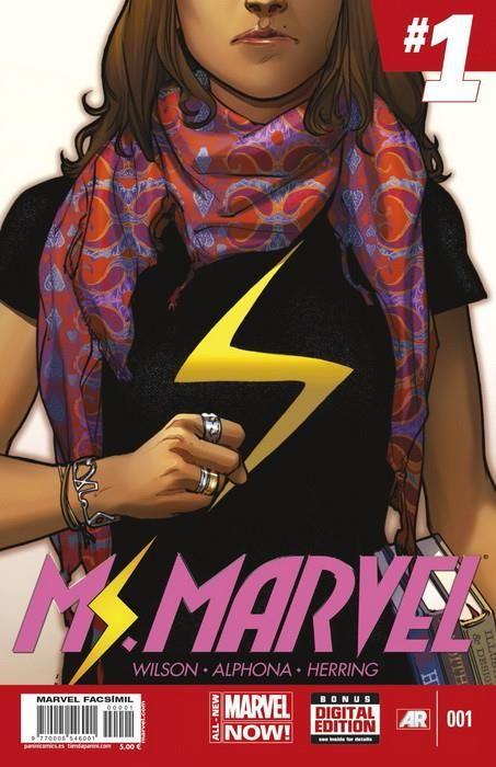 Marvel Facsímil. Ms. Marvel 01