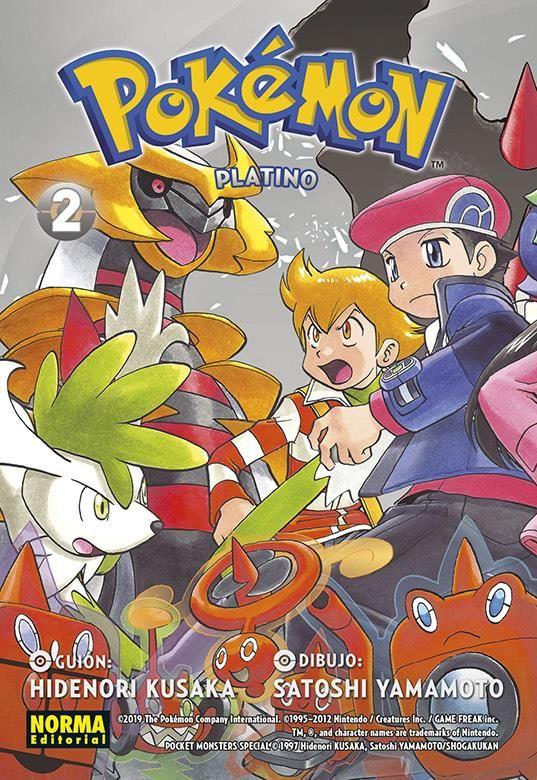 Pokémon 23. Platino nº 2
