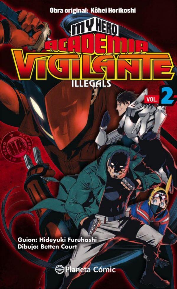 My Hero Academia Vigilante Illegals 02
